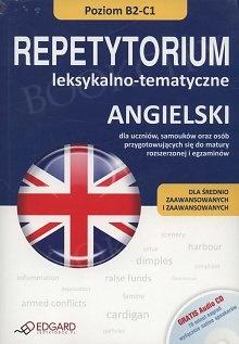 Angielski. Repetytorium leksykalno - tematyczne B2-C1 Książka + Audio CD