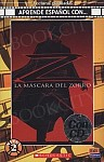 La mascara del zorro Książka z płytą CD