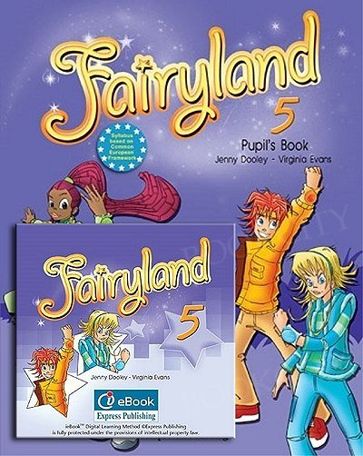 Fairyland 5 Pupil's Pack (Pupil's Book + i-eBook ) (podręcznik niewieloletni)
