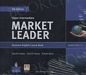 Market Leader 3rd Edition Upper-Intermediate Class Audio CD
