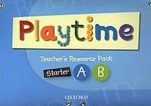 Playtime Starter A& B TRP Teacher's Resource Pack