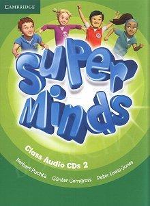Super Minds 2 Class Audio CDs (3)