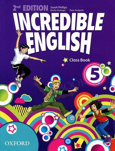Incredible English 5 (2nd edition) Class Book