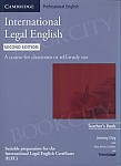 International Legal English 2nd Edition książka nauczyciela