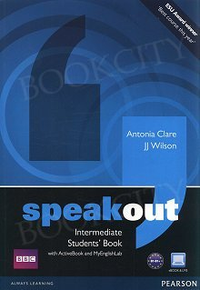 Speakout Intermediate B1+ Student's Book plus Active Book plus MyEnglishLab (z kodem)