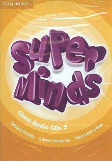 Super Minds 5 Class Audio CDs (3)