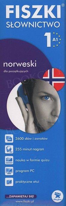 Fiszki Norweskie. Słownictwo 1 Fiszki + program + mp3 online