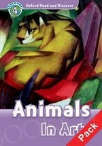 Animals In Art Book with Audio CD Pack