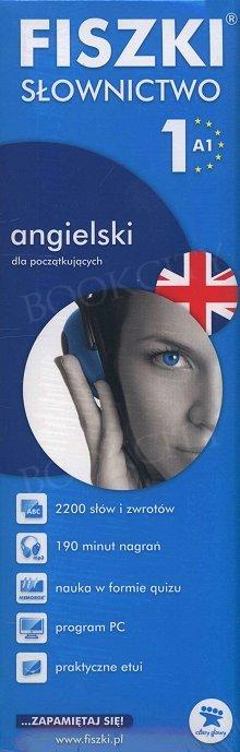 Fiszki Angielskie PREMIUM. Słownictwo 1 Fiszki + program + mp3 online