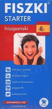 Fiszki Hiszpańskie Starter Fiszki + program + mp3 online