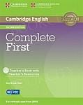 Complete First Certificate 2ed książka nauczyciela