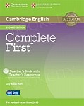 Complete First Certificate 2ed Teacher's Book + Teacher's Resources CD-ROM
