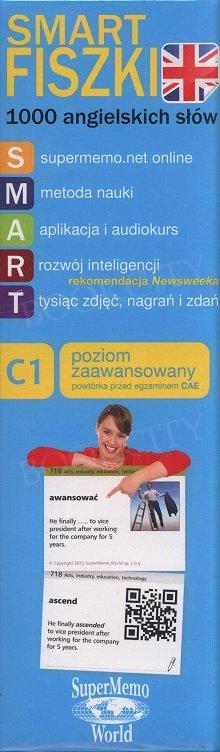 1000 angielskich słów - poziom zaawansowany C1 Fiszki + kod dostępu