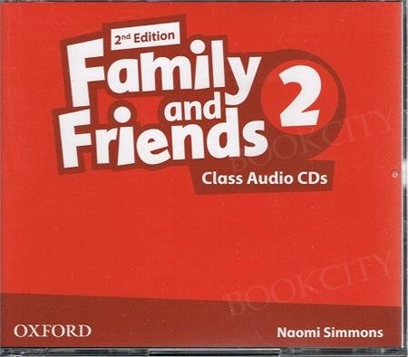 Family and Friends 2 (2nd edition) Class CD(3)
