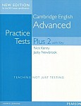 Practice Tests Plus 2 Advanced New Edition (2015 exam specification) Book with Key