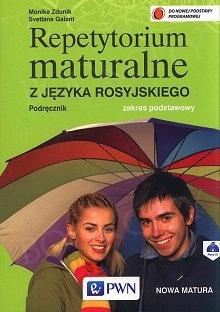 Repetytorium maturalne z języka rosyjskiego. Zakres podstawowy Podrecznik+CD