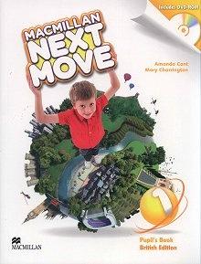Macmillan Next Move 1 Książka ucznia + DVD-ROM