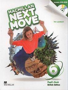 Macmillan Next Move 6 Książka ucznia + DVD-ROM