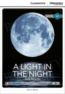 A Light in the Night: The Moon (poziom A1) Book with Online Access