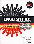 English File Elementary (3rd Edition) (2012) Multipack B with iTutor and iChecker with Online Skills