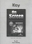 On Screen Upper-Intermediate B2+ Klucz Zeszyt ćwiczeń (Matura Workbook & Grammar Book)