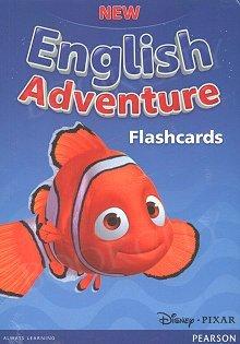 New English Adventure 1 Flashcards (poziomy Starter i 1)