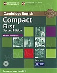 Compact First (2nd edition 2015) Workbook without answers with CD