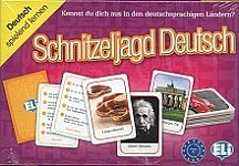 Schnitzeljagd Deutsch Gra językowa z polską instrukcją i suplementem