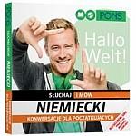 Słuchaj i mów Niemiecki konwersacje dla początkujących