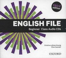 English File Beginner (3rd Edition) (2015) Class Audio CDs