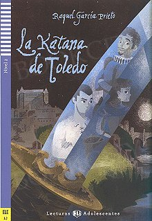 La katana de Toledo Książka + audio mp3