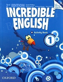 Incredible English 1 (2nd edition) Activity Book with Online Practice