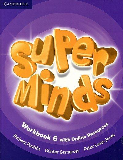 Super Minds 6 Workbook with Online Resources