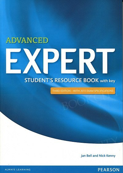 Advanced Expert Student's Resource Book with key