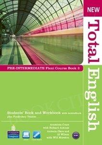 New Total English Pre-Intermediate Flexi Course Book 2 Pack