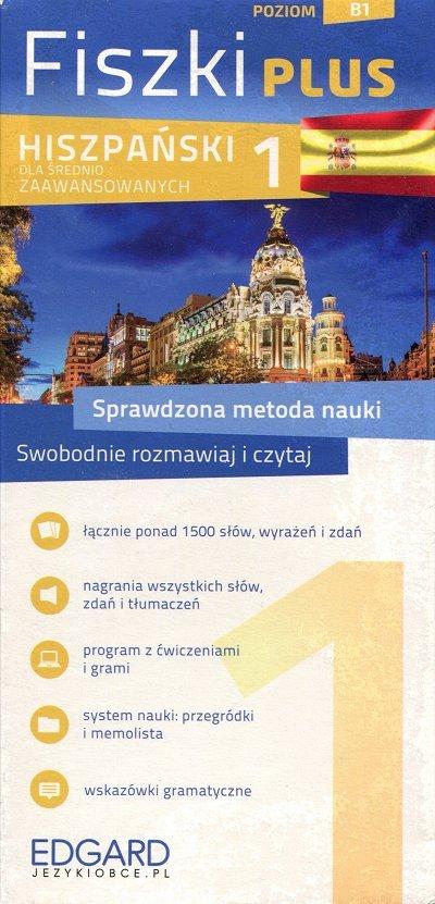 Hiszpański Fiszki PLUS dla średnio zaawansowanych 1 Fiszki + program + mp3 online