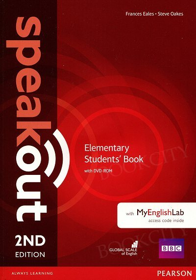 Speakout Elementary (2nd edition) Student's Book with DVD-ROM + kod MyEnglishLab