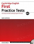 Cambridge English First Practice Tests Tests With Key and Audio CD Pack