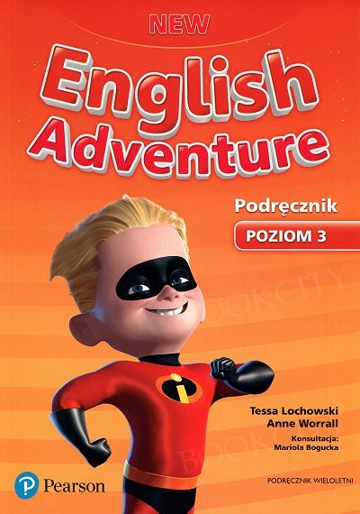 New English Adventure 3 (WIELOLETNI) podręcznik