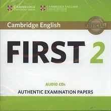 Cambridge English First 2 FCE (2016) CD(2)