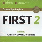 Cambridge English First 2 FCE (2016) CD(2)