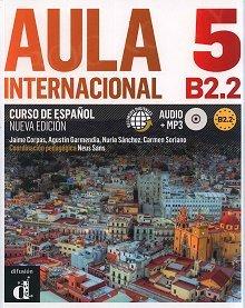 Aula Internacional Nueva Edición 5 Podręcznik + ćwiczenia + CD mp3