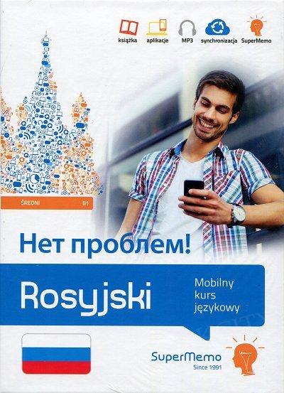 Rosyjski Net problem! Mobilny kurs językowy - poziom średni B1 Książka + kod dostępu