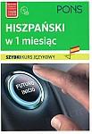 Hiszpański w 1 miesiąc Szybki kurs językowy Książka+CD