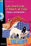 Albert et Folio: Joyeux anniversaire książka + CD