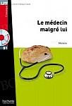 Le Medecin malgre lui książka + CD