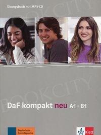 DaF kompakt Neu A1-B1 Kursbuch + CD mp3