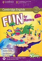 Fun for Movers (4th edition) Student's Book + Online Activities + Audio + Home Fun Booklet