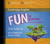 Fun for Starters (4th Edition) Class Audio CD