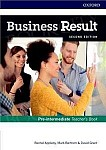 Business Result 2nd edition Pre-intermediate Teacher's Book and DVD